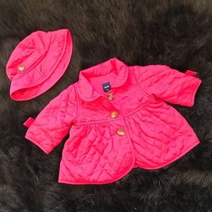 NWT Gap Baby Girl/'s Toddler Red Ruffle Crew Cardigan 18-24M 3 /& 4 Years New